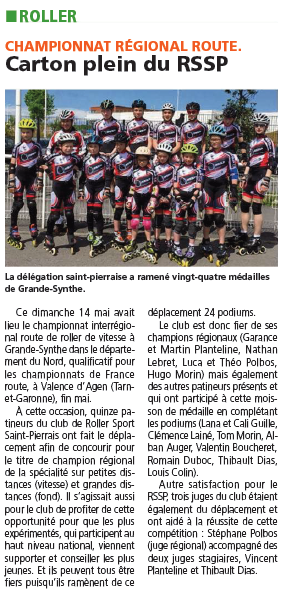 Article journal elbeuf 18 Mai