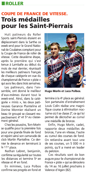 article coulaines Juin 2017