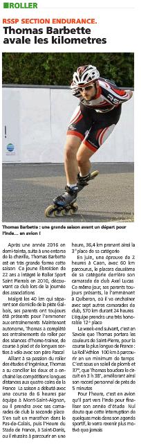 Article Thomas Barbette